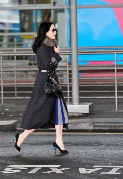 1cbadb94ad8 More Pics of Dita Von Teese Oval Sunglasses (6 of 9) - Dita Von Teese  Lookbook - StyleBistro