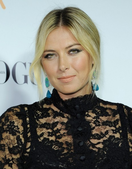 More Pics of Maria Sharapova Little Black Dress (1 of 9) - Little Black Dress Lookbook - StyleBistro