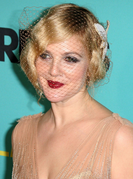 Drew Barrymore Finger Wave. This hairstyle perfectly matches