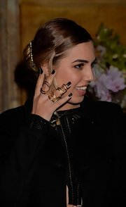 Amber Le Bon wore a beautiful ring at the 'Gatsby' drink reception.