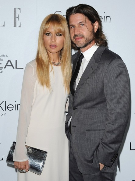 More Pics of Rachel Zoe Long Straight Cut with Bangs (1 of 9) - Rachel Zoe Lookbook - StyleBistro