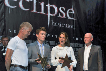Ashley Greene Xavier Samuel Eclipse in Belgium