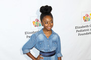 Skai Jackson Denim Shirt