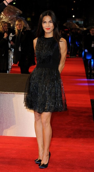 Elodie Yung Little Black Dress