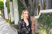 Emma Roberts Peep Toe Pumps