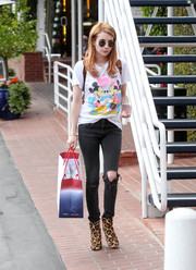 Emma Roberts showed some Disney love with this tee while out shopping.