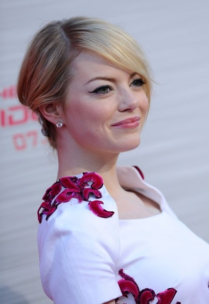 Emma Stone Cat Eyes