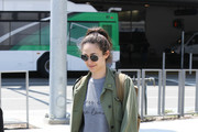 Emmy Rossum Canvas Sneakers