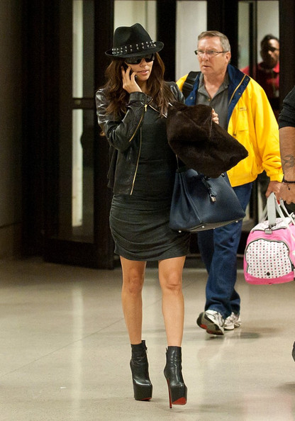 Eva Longoria Leather Jacket