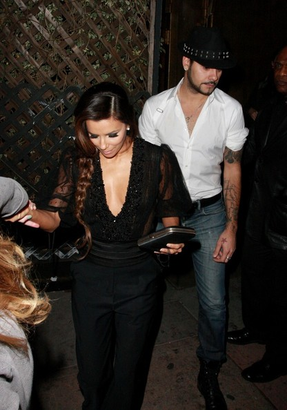 Eva Longoria Wide Leg Pants