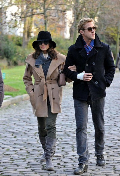 Eva Mendes Wool Coat