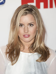 Caggie Dunlop wore her natural locks down at the FHM Sexiest Women in the World Awards.
