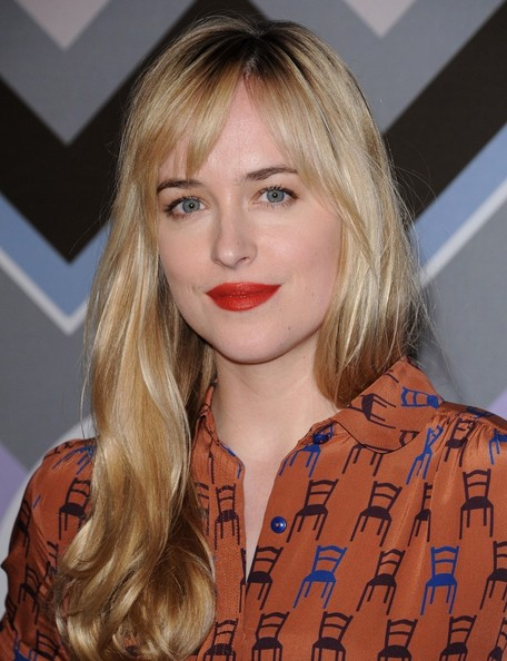More Pics of Dakota Johnson Print Dress (1 of 5) - Print Dress Lookbook - StyleBistro