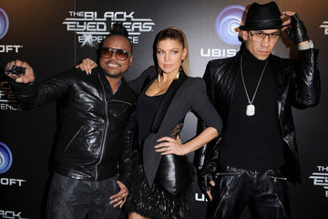Fergie apl.de.ap The Black Eyed Peas Experience Launch Party