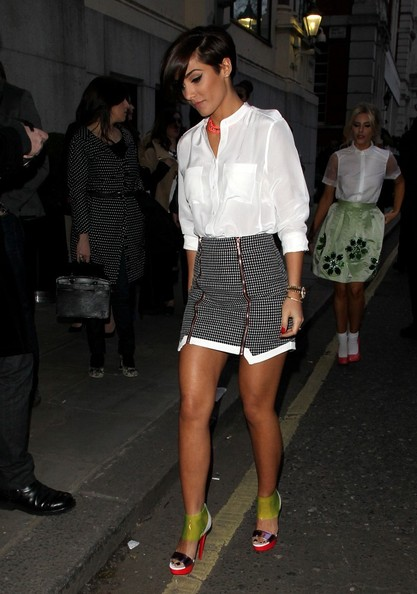 Frankie Sandford Mini Skirt