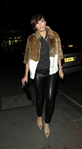 Frankie Sandford Fur Coat