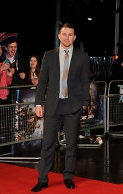 Channing Tatum traded in his 'Magic Mike' duds for a more red carpet-appropriate suit.
