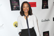 Garcelle Beauvais High-Waisted Pants