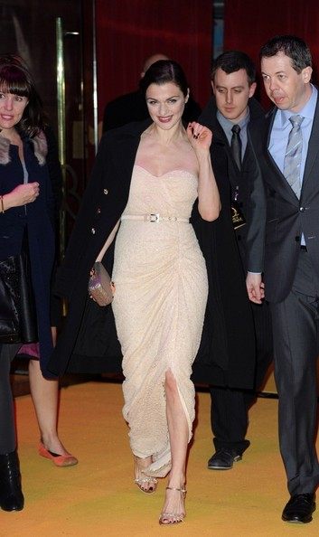More Pics of Rachel Weisz Strapless Dress (1 of 8) - Strapless Dress Lookbook - StyleBistro