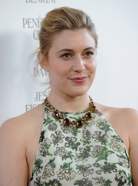 Greta Gerwig Gemstone Collar Necklace