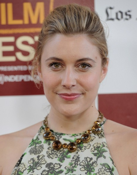 Greta Gerwig French Twist