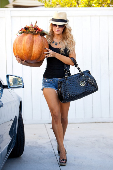 Gretchen Rossi Patent Leather Shoulder Bag