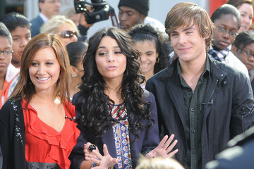 Ashley Tisdale Corbin Bleu HSM 3 on The Today Show