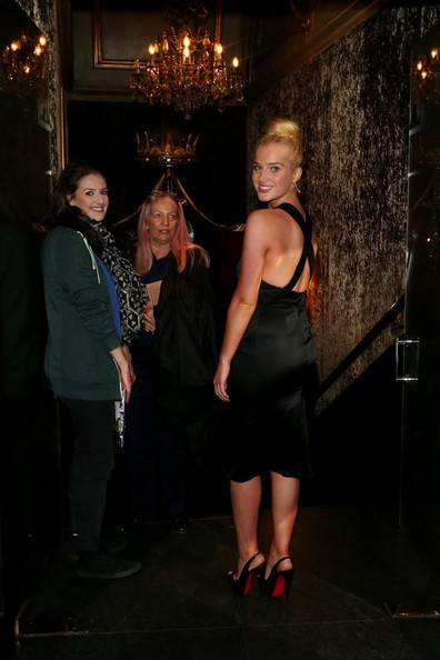 More Pics of Helen Flanagan Cutout Dress (1 of 9) - Cutout Dress Lookbook - StyleBistro