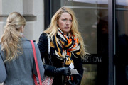 Blake Lively Gets Eclectic With a Jimmy Choo Purse