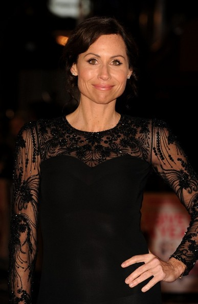 More Pics of Minnie Driver Beaded Dress (1 of 10) - Minnie Driver Lookbook - StyleBistro