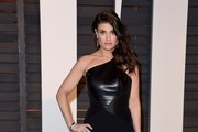 Idina Menzel One Shoulder Dress