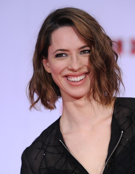 More Pics of Rebecca Hall Short Wavy Cut (2 of 13) - Short Hairstyles Lookbook - StyleBistro