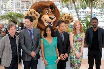 "Jada Pinkett Smith Jessica Chastain ""Madagascar 3"" Photocall at Cannes"