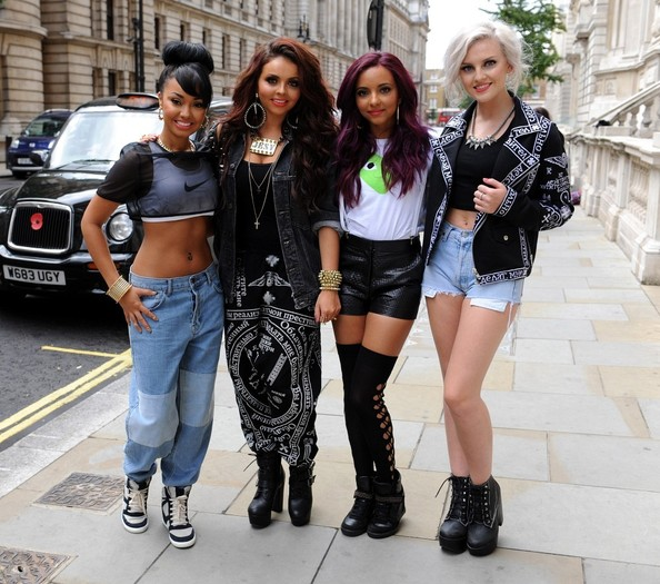 Jade Thirlwall Short Shorts
