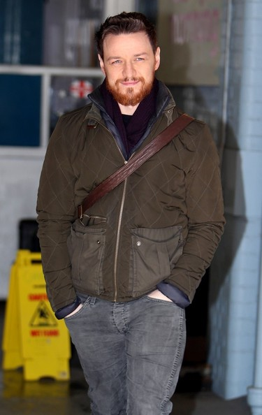 James McAvoy Zip-up Jacket