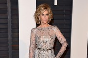 Jane Fonda Hard Case Clutch