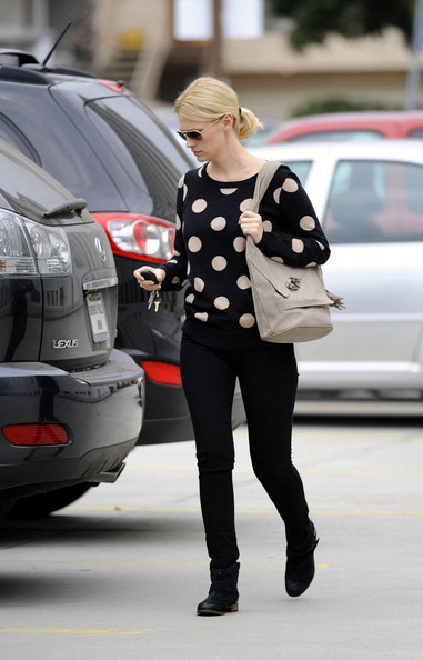 January Jones Crewneck Sweater []