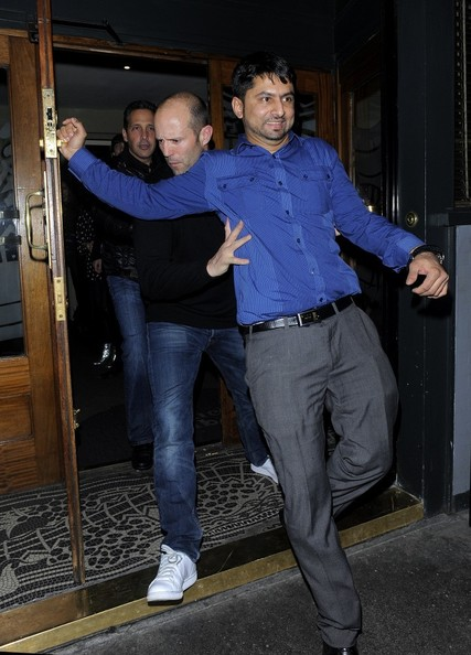 Celebs Leave the Groucho Club