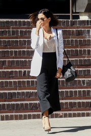 Jenna Dewan-Tatum was spotted out in LA carrying a classic black bucket bag.
