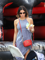 Jenna Dewan-Tatum enjoyed a day out in LA wearing a pair of oversized cateye sunglasses.