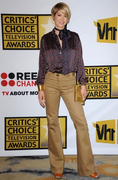 Jenna Elfman Button Down Shirt