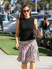 Jennifer Garner stepped out on a sunny day in LA wearing classic cateye shades.