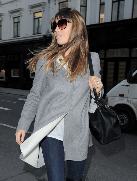 Jessica Biel Shops in London