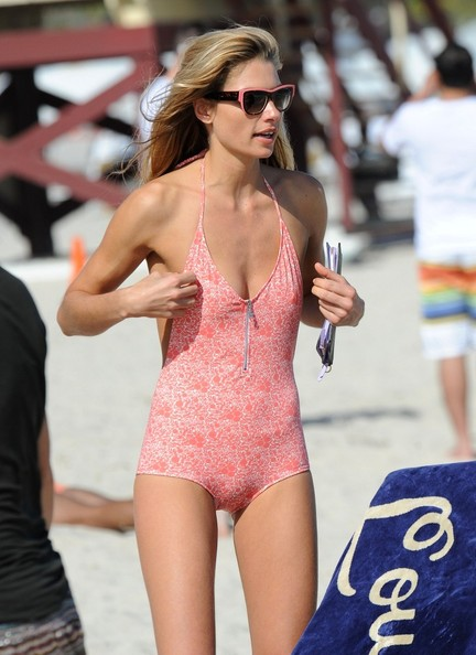 Jessica Hart One Piece