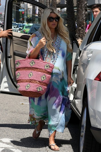 Jessica Simpson Out at Lunch