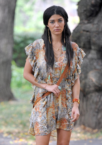Jessica Szohr Half Up Half Down