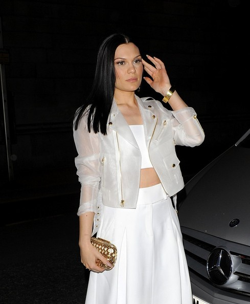 Jessie J Motorcycle Jacket