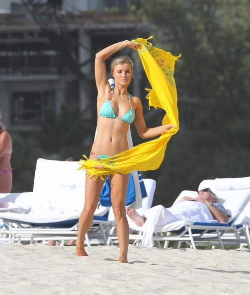 Joanna Krupa at the Beach