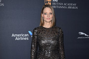 Jodie Foster Fishtail Dress