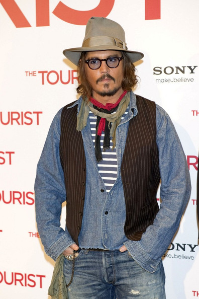 Johnny Depp Button Down Shirt